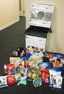 IMG of items donated to New Beginnings Merced