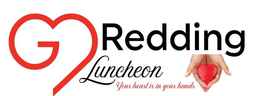 A banner of 2019 Go Redding Luncheon